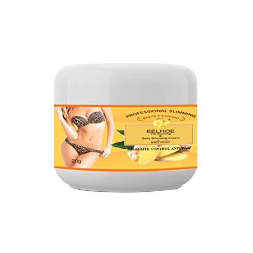 Crema para quemar grasa de jengibre Crema reductora Anticelulitis Crema adelgazante para todo el cuerpo Crema reafirmante de piel activada Crema para quemar grasa para estómago, glúteos, piernas