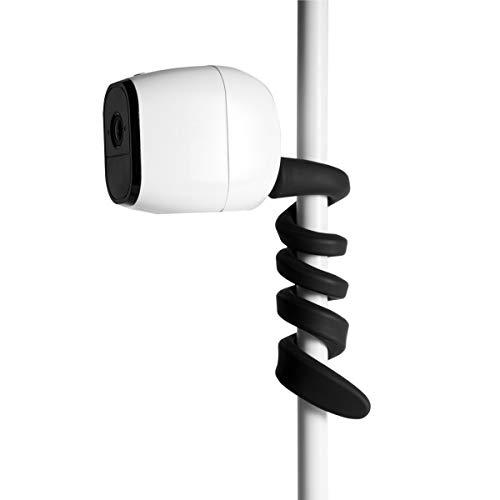 Flexible Twist-Halterung für Arlo Pro 2, Arlo Ultra, Arlo Pro, Arlo Baby, Arlo Pro 3, Arlo Go, Arlo HD, Arlo, Eufy Cam, Roelink Argus, Motorola Baby Monitor Wandhalterung, 1 Stück