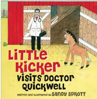 Little Kicker Visits Doctor Quickwell