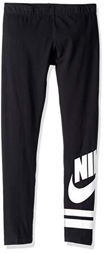 Nike Mädchen Favorite GX3 Tights, Schwarz (black/White), XS