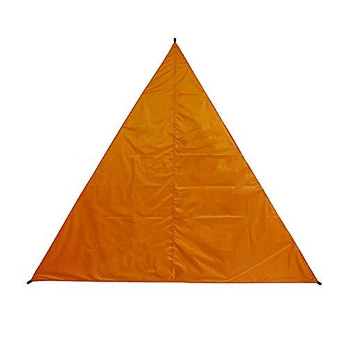 EmNarsissus Parasol al Aire Libre Pabellón Triangular 3 M 4 M 6 M Pabellón de protección Solar Parasol Simple Toldo Moda Profesional