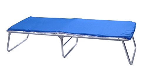 GigaTent Folding Camping Cot with Mattress Pad and Carrying Bag – Adult Elevated Tent Bed - Portable and Lightweight for Indoor and Outdoor Use
