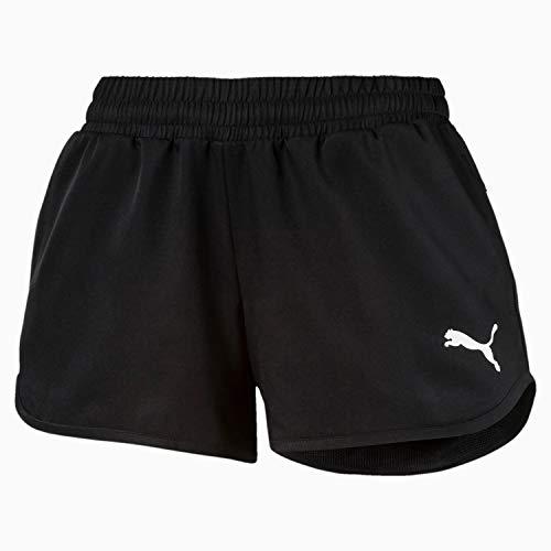 PUMA Mädchen Shorts Active Shorts G, schwarz, 128