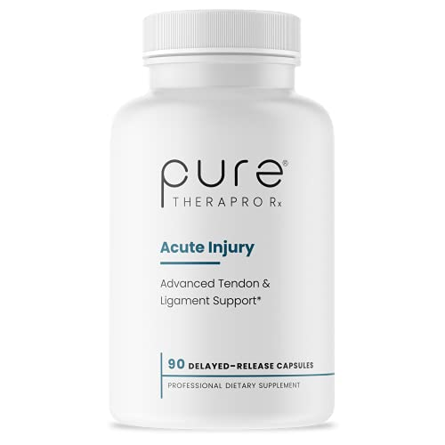 Acute Injury -  Delayed Release  Caps   Tendon & Ligament Support   Convenient Once a Day Clinical Dose   Boosts Tendon Health  Movement & Physical Function   Pharm (90 Capsules)