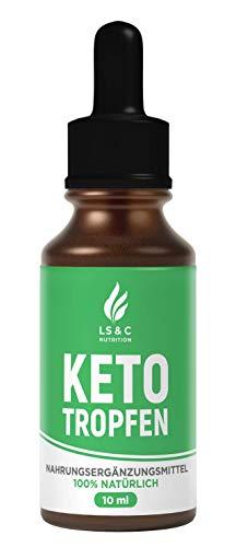 KETO TROPFEN Burn | Ketogen Drops | Extrem | Schnell | Unterstützung | Leicht & Einfach | 10 ml (1)
