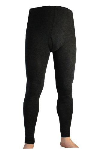 Weri Spezials Hommes Coton Leggings 54-56 (L) Anthracite
