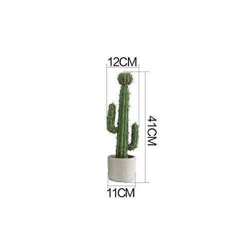 Powzz ornament Cactus Ornamentales En Macetas De Plantas Nórdicas, Inmortales, Grandes Bonsáis, Ornamentos De Interior, Plantas En Macetas Ornamentales De Ins, A
