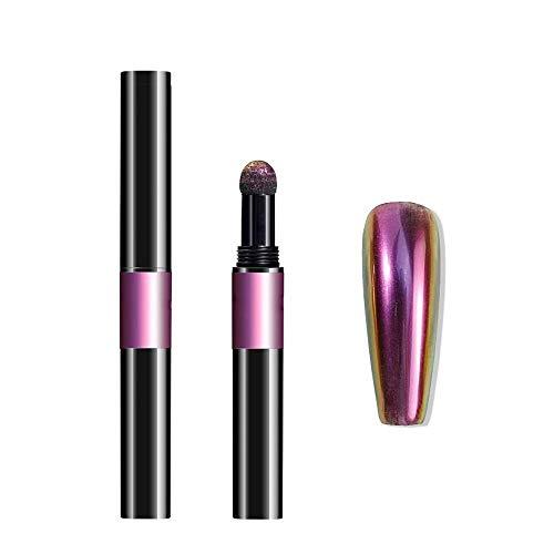 Nailart Puder - Pigment Pen - Chrome - Flip Flop - 1010-HY03