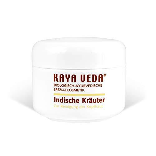 KAYA VEDA Indische Kräuter für natürliche Haarpflege/Hair Growth Balm zur Pflege der Kopfhaut/Haarvitamine gegen Haarausfall/Haarwachstum-Haarpaste/Haarwuchsmittel für Mann & Frau (1 x 50 ml)