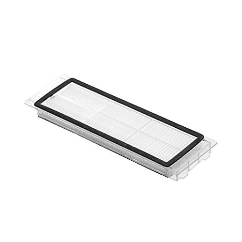 Mizuho Lavable Hepa Filter Strainer Fit para Xiaomi Mijia 1/2 ROBOROCK S5 S50 S51 S55 S6 S60 S65 E25 E35 E20 C10 MI Aspirador robótico (Color : 1Pcs)