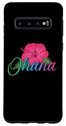 Galaxy S10 Ohana Aloha Hawaii from the island - Hibiscus Flower Aloha Case