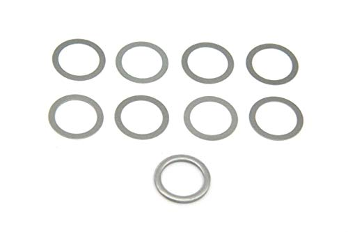 5/8 x 24 Barrel Shim Muzzle Brake Alignment Shims Kit .308 7.62 Indexing Stainless (9 Pieces)