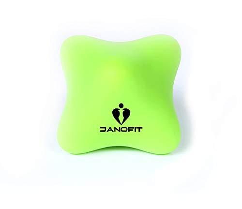 Janofit - Handmassage Triggerpunkt Gymnastikball Hilfe für unruhige Kinder (GRÜN)