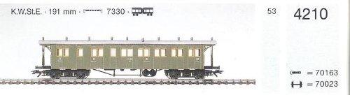 MÄRKLIN H0 4210 Abteilwagen 2+3 Klasse