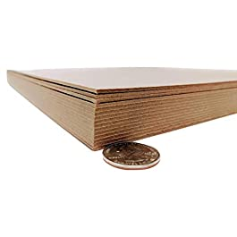 8.5 x 11 Inches 70 Point Kraft Heavy Duty Chipboard Sheets – 15 Per Pack