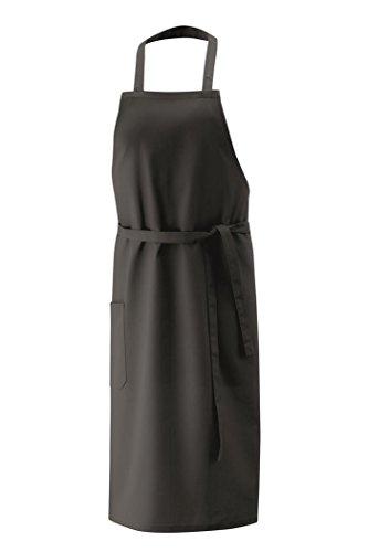 Exner Latzschürze XXL 100 x 100 cm, Farbe:Black, Größe:100 x 100 cm