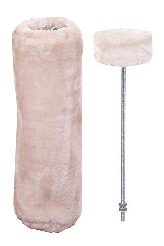 "Nobby STARSYSTEM Deckenspanner + Cover ""DE LUXE"" beige ø12 x 40 cm"