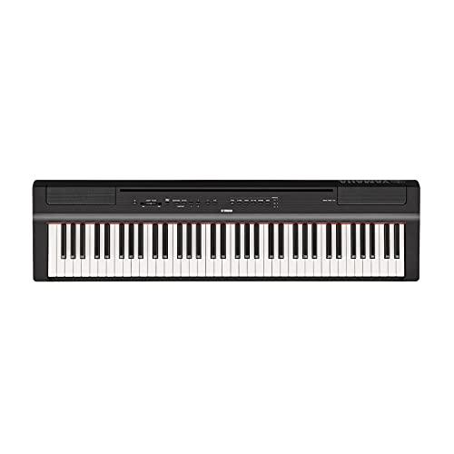 Pack Yamaha P121 noir - Piano numérique - 73 touches + Stand en X