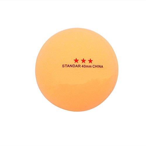 WT-DDJJK Pelota de Tenis, 50 Piezas, 3 Estrellas, estándar, 40 mm, Tenis de Mesa olímpico, Pelotas de Ping-Pong, Juegos de Interior, Caliente