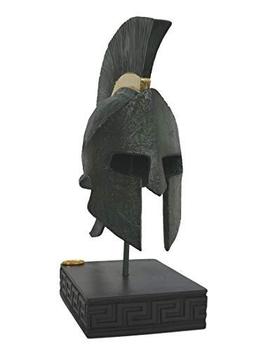 Talos Artifact King Leonidas Helm – Spartan Hero Alabaster kleine Skulptur – 300 Spartaner