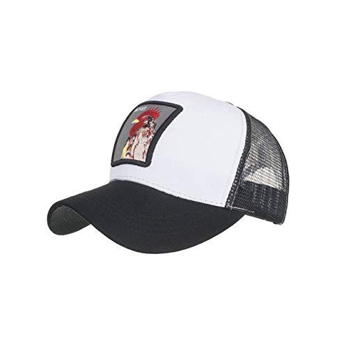 XULINGKE Baseballmütze Herren Damen Baumwollhut Baseball Cap Hat Passend Cap Hut, D, 2