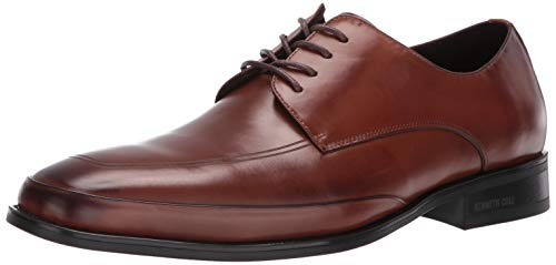 Kenneth Cole New York Men's Leisure Lace Up Oxford, Cognac, 10.5 M US