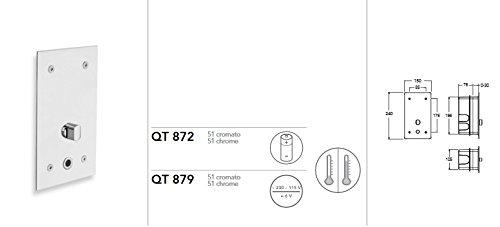 Silfra Quiktronic QT872 Elektronische Duscharmatur