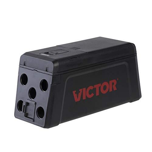 Victor Trampa electrica mejorada No touch-No see sin contacto para atrapar ratas - Diseño reutilizable y fácil de usar para caza de ratas - captura inmediata, segura e higiénica, sin crueldad #M241
