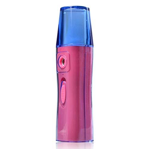SNOWINSPRING 20ML PulvéRisateur Facial USB NéBuliseur Visage Vapeur Humidificateur Hydratant Anti-?Ge Rides Femmes Beauté Outils de Soins de la Peau (Rose Rouge)