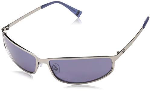 Adolfo Dominguez Ua-15077, Gafas de Sol para Mujer, Multicolor (Silver/Blue), 63