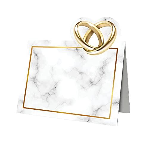 Segnaposto Matrimonio Originali - Segnaposti per Battesimo Prima Comunione - Cresima Compleanno Bimba Bimbo, 50 pz