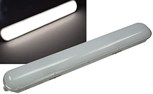 LED plafond vochtige ruimte lamp met doorgang IP65 230V neutraal wit