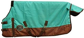 Chicks Saddlery Showman Foal/Mini 1200 Denier Adjustable Waterproof Turnout Sheet - Adj 36-40 Inch