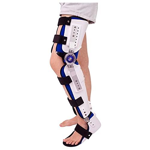 Rodillera ROM con bisagras, estabilizador de articulaciones de Soporte de ortesis de Rodilla para Artritis, ACL, PCL, desgarro de menisco, osteoartritis, recuperación posoperatoria