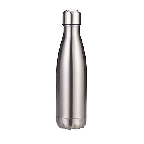 Xme Copa de Cola de Acero Inoxidable, Botella Deportiva aislada, Botella de Cola Creativa de Acero Inoxidable 304