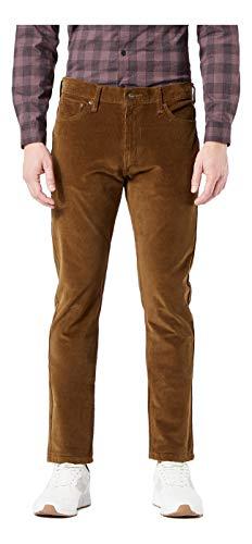 Dockers Men's Slim Fit Ultimate Jean Cut Pants, Tobacco, 33W x 32L