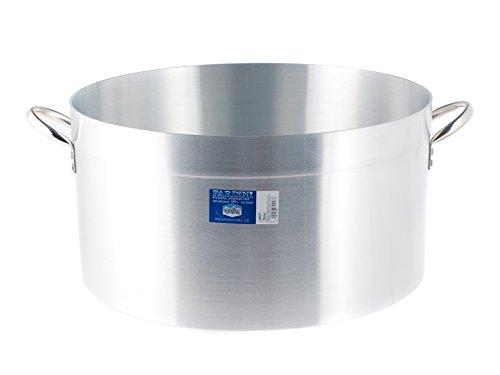 PARDINI Casseruola Alluminio albergo Media 2 Manici 14 Pentole Cucina, Grigio, 50 cm
