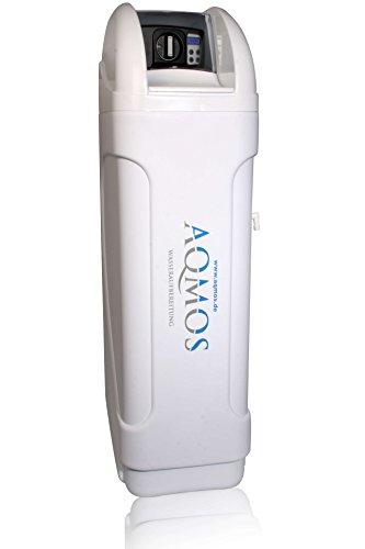 Hochwertiger Wasserenthärter BM-120 von Aqmos | Wasserenthärtungsanlage für Haushalte bis zu 8 Personen ausgelegt | Entkalkungsanlage | Antikalkanlage | Doppelenthärtungsanlage | Entkalker