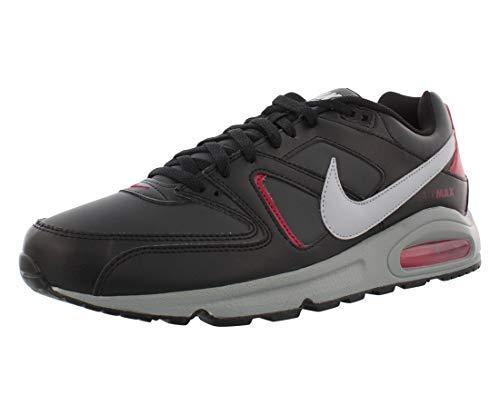 Nike Air Max Command, Scarpe da Corsa Uomo, Black/Wolf Grey/Anthracite/Noble Red, 42 EU