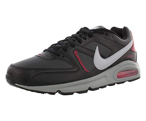 Nike Air Max Command, Scarpe da Corsa Uomo, Black/Wolf Grey/Anthracite/Noble Red, 43 EU