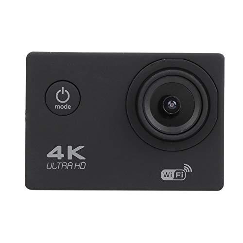 Filmadora, câmera de ação multifuncional recarregável portátil de 2 polegadas, com kit de extensão para fotografia subaquática ao ar livre com caixa à prova d'água