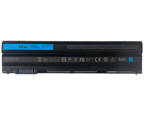 7XINbox 11.1V 60Wh T54FJ Ersatz Akku Batterie für Dell Latitude E5420 E5520 E5430 E5530 E6420 E6520 E6430 E6530,Fits M5Y0X 312-1163 HCJWT 7FJ92
