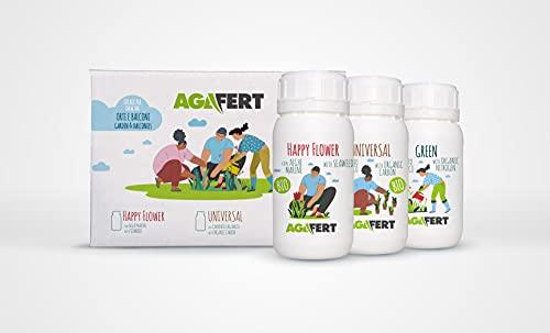EVOM AGAFERT Concime Biologico Super concentrato 100% BIO Made in Italy