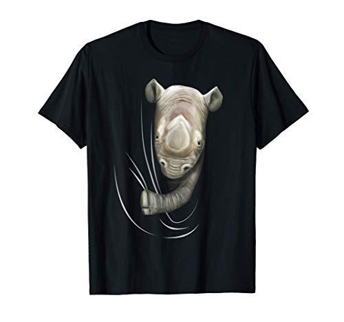 Nashorn kommt aus Kleidung Kinder Geschenk Outfit Nashorn T-Shirt