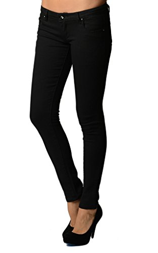 Dinamit Juniors 5 Pocket Skinny Uniform Pant Black 7