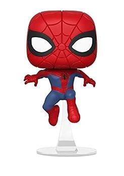 Funko Pop Marvel  Animated Spider-Man Movie - Spider-Man Collectible Figure Multicolor