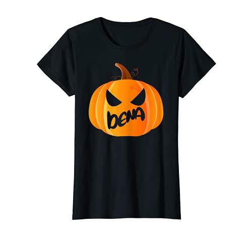 Dena Nombre Calabaza Personalizada Halloween Camiseta