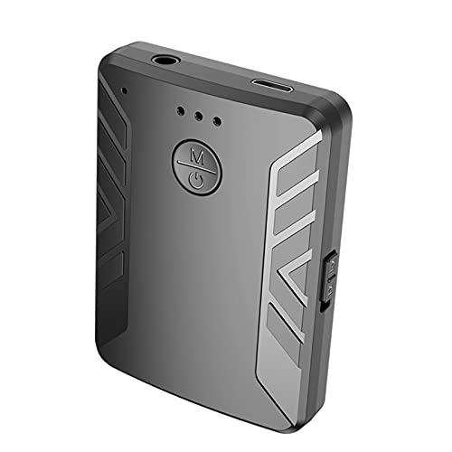 balikha Transmisor Bluetooth Adaptador Receptor Portátil de Baja latencia para PC Auriculares Altavoz Sistema estéreo para el hogar Reducción de Ruido
