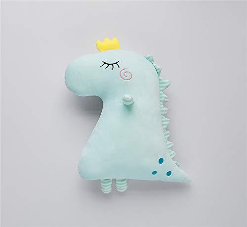 N / A Kawaii Soft Dinosaur Plüsch Baby Spielzeug Kuscheltiere mit Krone Plüsch Puppe Kinder Spielzeug Geburtstag ForGirls Freunde 50x40cm
