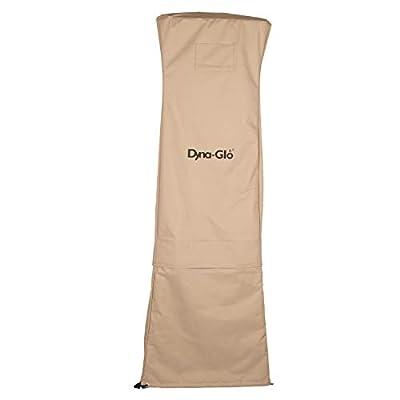 "Dyna-Glo DGPHC400BG 73"" Pyramid Patio Heater Cover, Beige"
